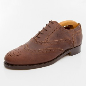 Full-Brogue-leather grain