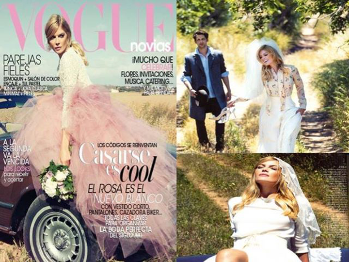 Vogue novias otoño aguirre and gross